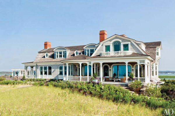 A M Stern Steven Gambrel Long Island Beach House Exterior