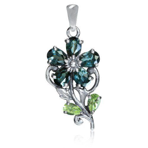 Color Change Alexandrite Doublet&Peridot 925 Sterling Silver Flower Pendant Silvershake,http://www.amazon.com/dp/B00BPHZ31S/ref=cm_sw_r_pi_dp_b2Nysb1TVQEE63AV