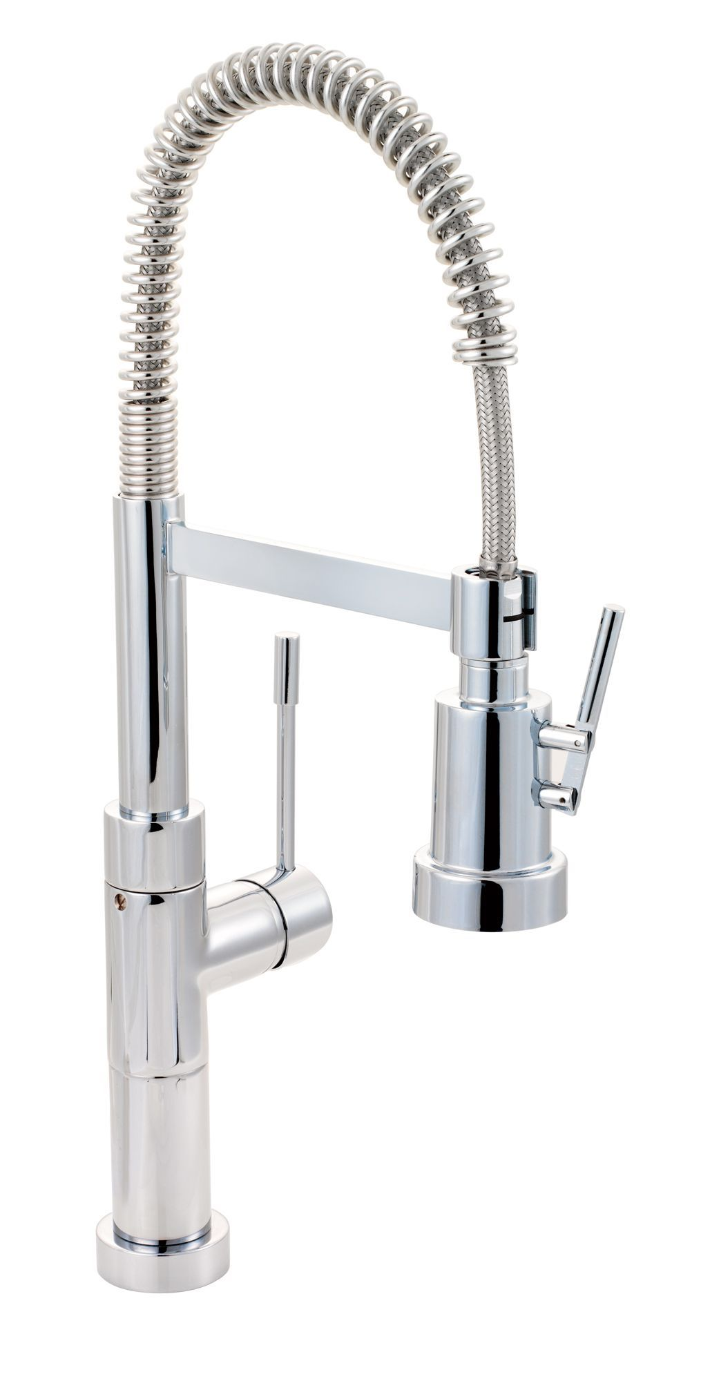 Cooke & Lewis Locone Chrome Effect Spring Neck Tap | Departments ...