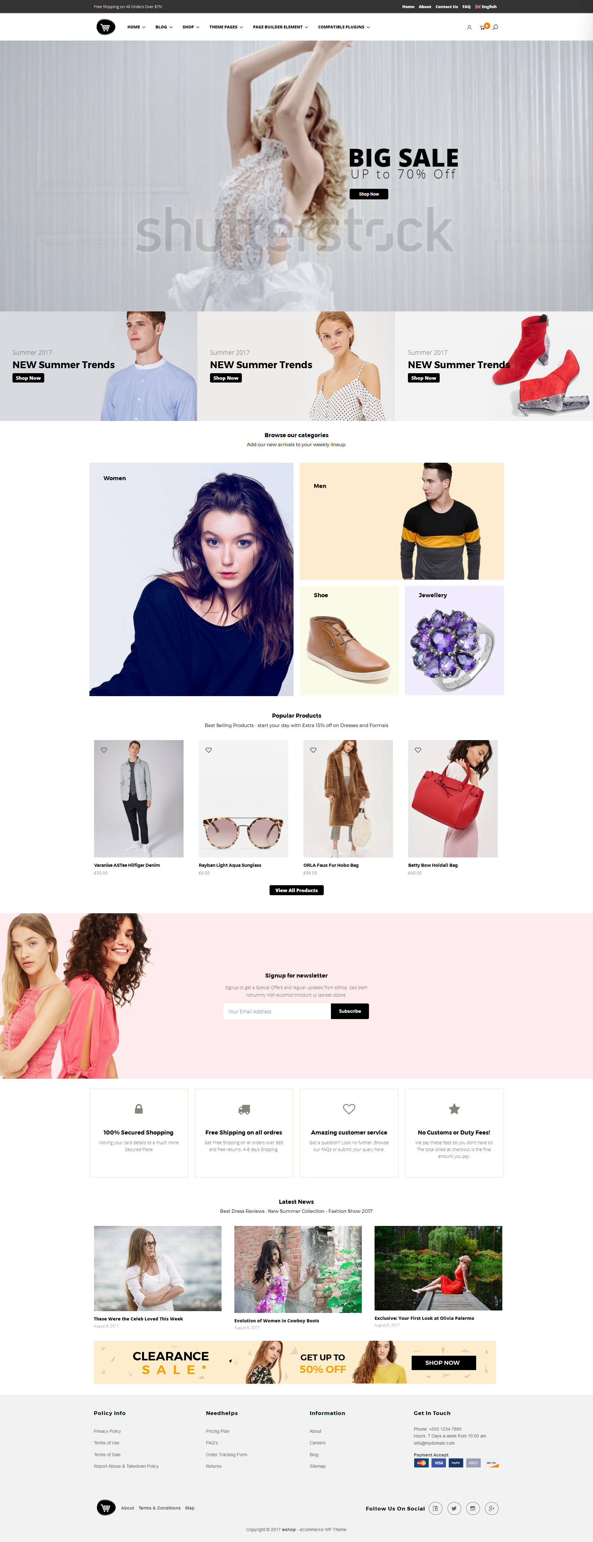 eCommerce website with WordPress using the Storebox theme - https ...