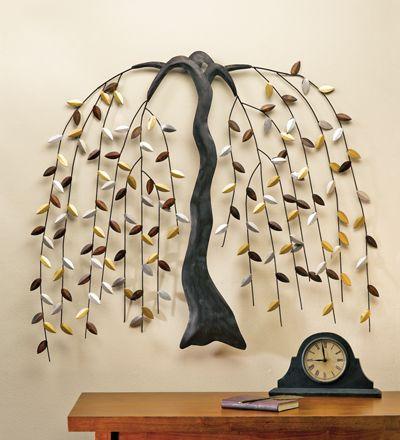 Metal Willow Tree Wall Art | willow tree art | Pinterest | Tree wall ...