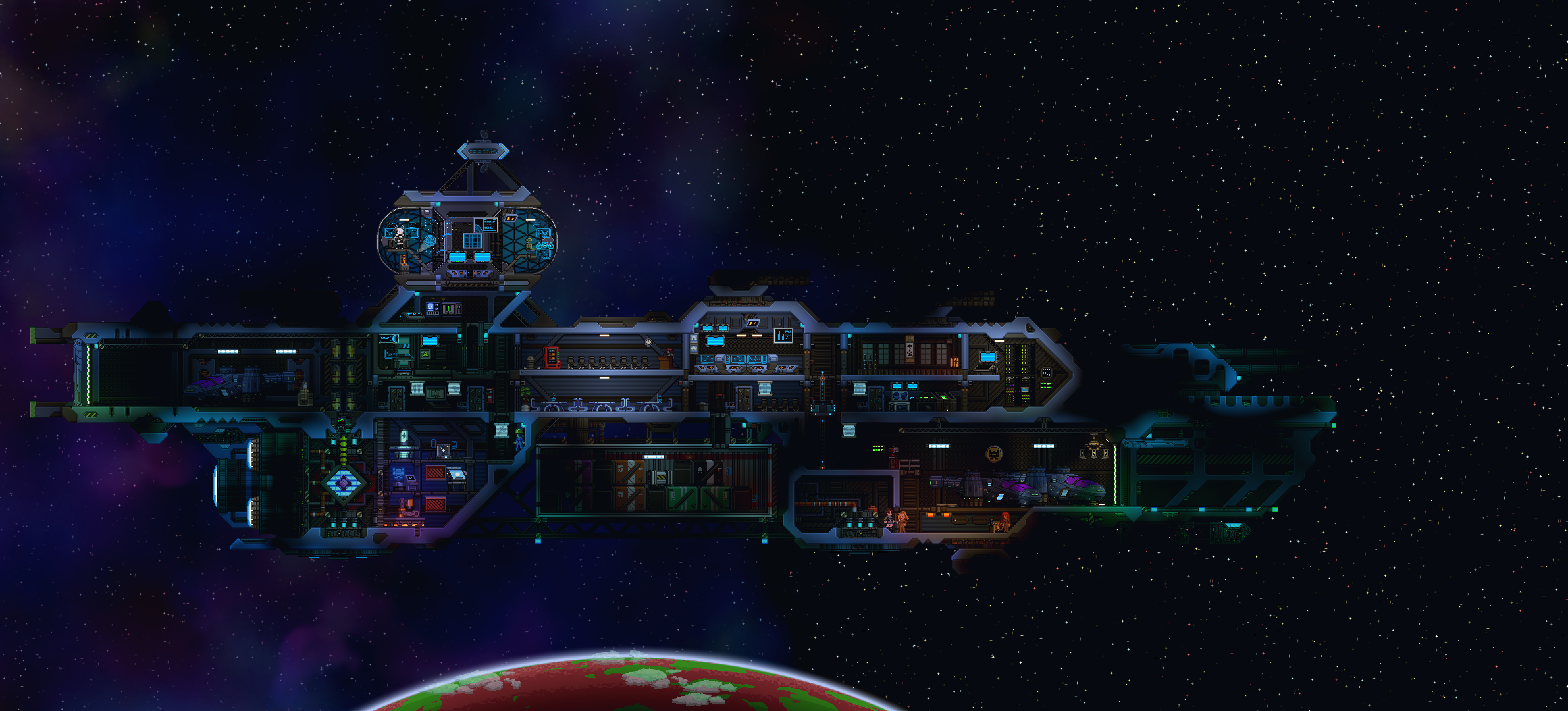 custom spaceship by POHANY (Starbound) | Terraria and Starbound in