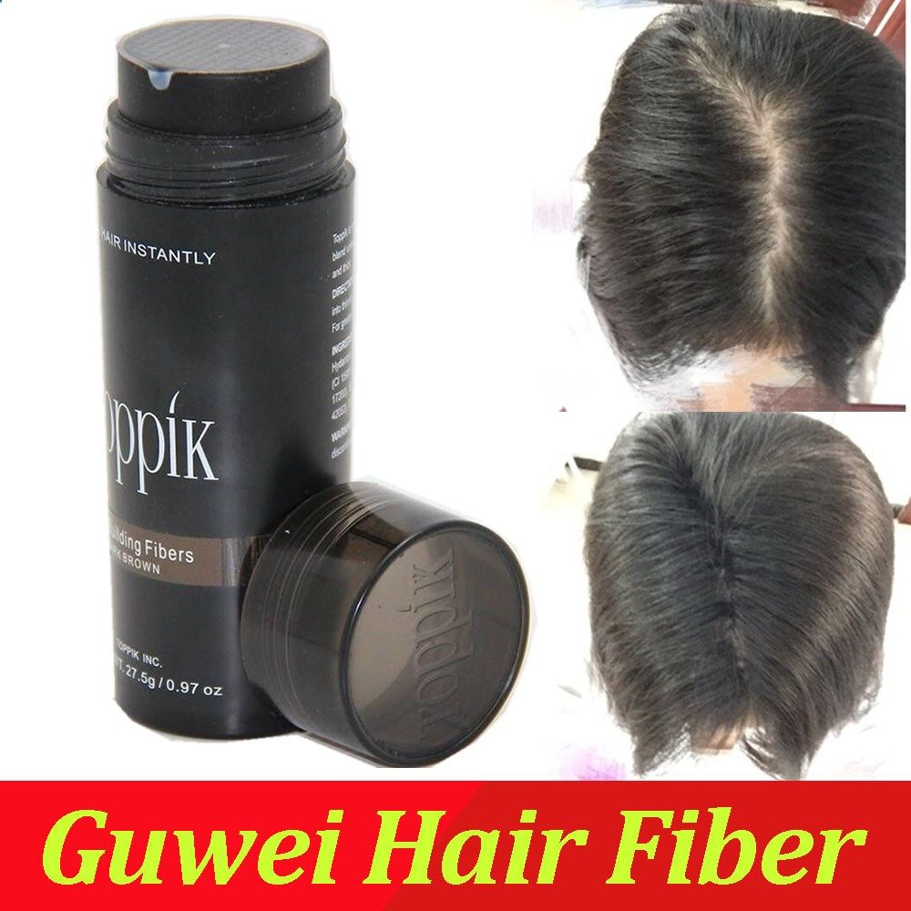 DARK BROWN/BLACK/BLOND/GREY 9 color of toppik brand hair building fibers bottle natural fibers Thinning Spars and Balding areas