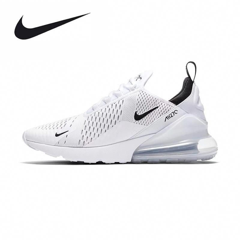 Nike Air Max 270 180 Running Shoes Sport Outdoor Sneakers White Comfortable  Breathable Cushioning for Men AH8050-100 3d049b582