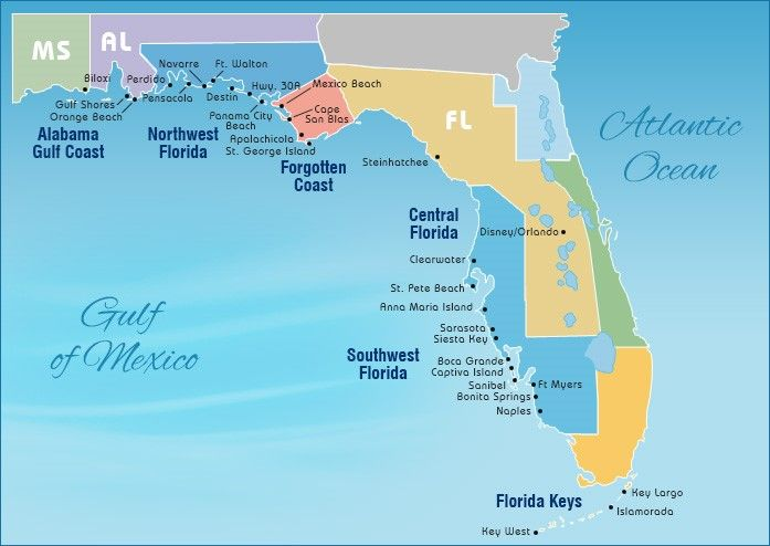 Gulf Coast Beaches Map Map of Gulf Beaches | visit 50 | Pinterest | Gulf coast beaches  Gulf Coast Beaches Map
