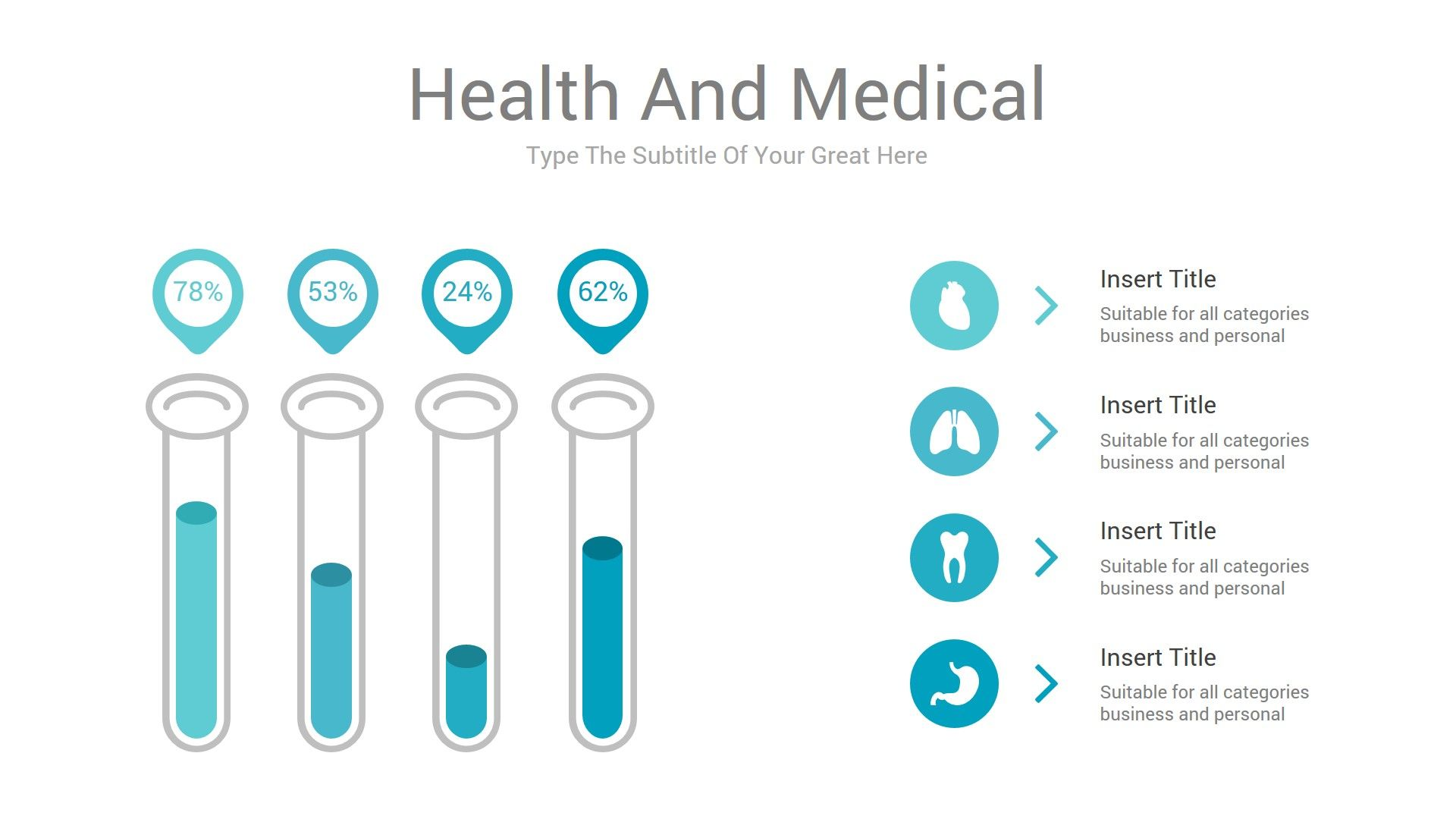 health and medical powerpoint presentation template medical