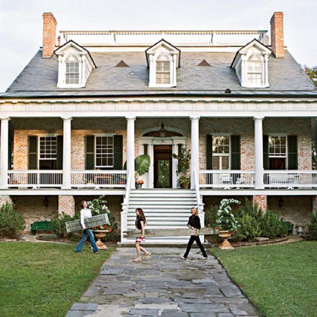 Wrap Around Porch With A Widow's Walk