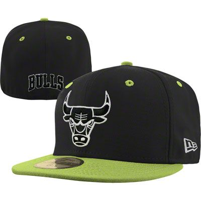 43b08e3fbb0 Chicago Bulls Fashion New Era 59FIFTY NBA Team Exclusive Fitted Hat - Cyber  Green  36.99