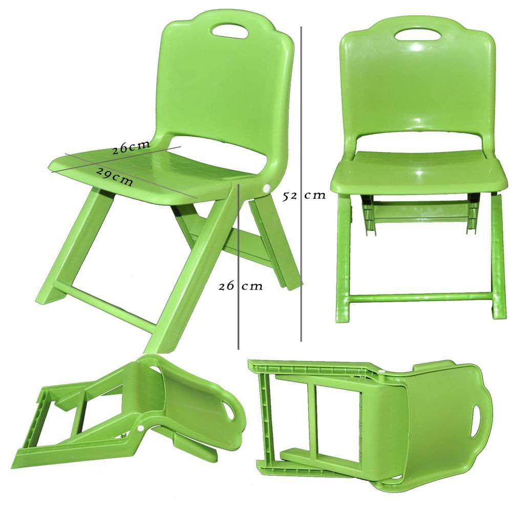 Strong Kids Children Plastic Folding Chair, Home, Picnic, Party ...