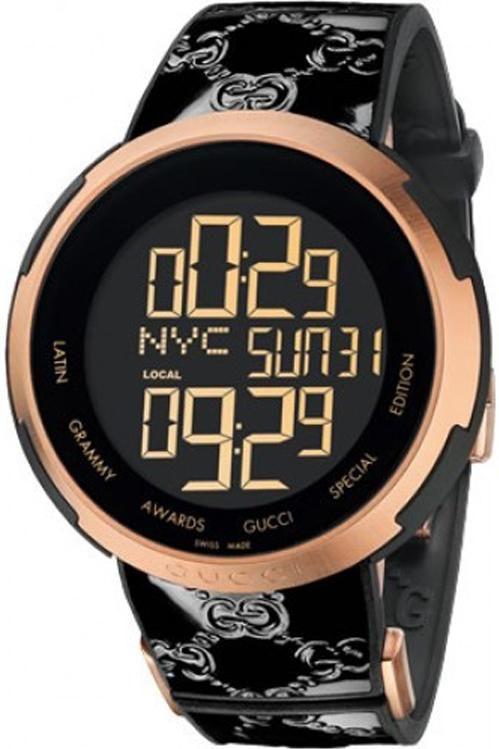 598cedf6a59 Gucci I Gucci Limited Latin Grammy Edition Mens Watch Ya114102 ...