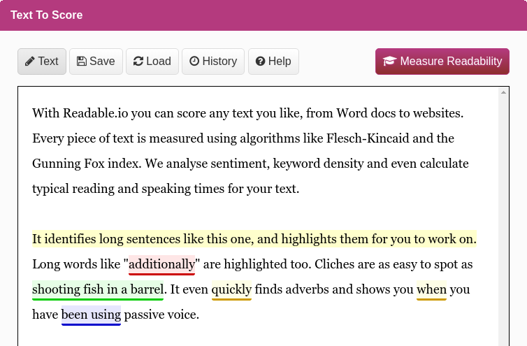 Conquer Your Readability Today Myself essay, Algorithm