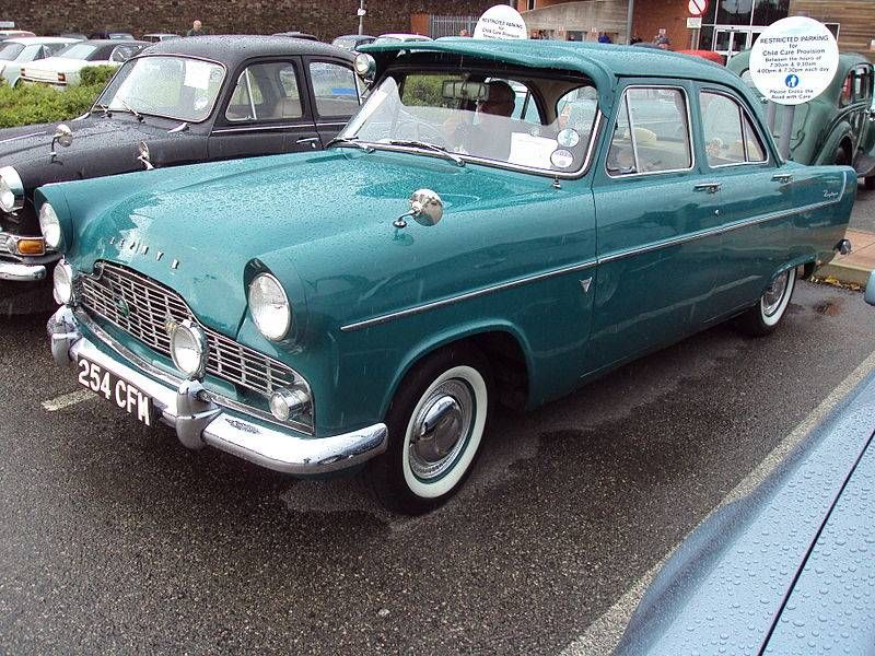 1951 1956 Ford Consul Classic British Ford Cars New Used