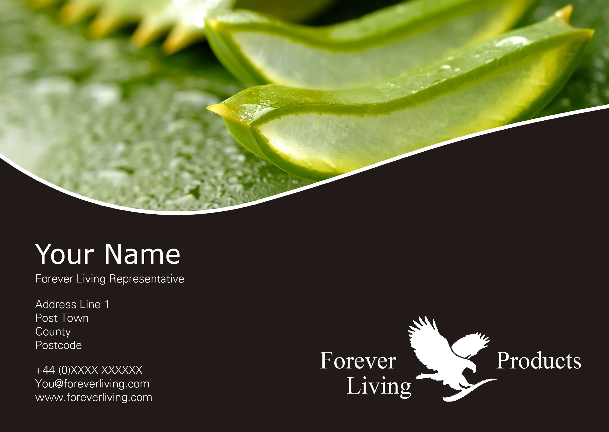 Client Forever Living Flyer Front Created By Me At Nic S Designs Forever Living Business Card Forever Living Products Forever Products
