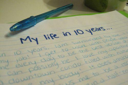 Write a Five Year Plan | Yeah     | 10 year plan, High