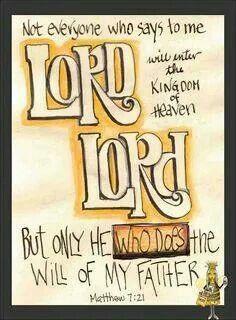 Matthew 7:21