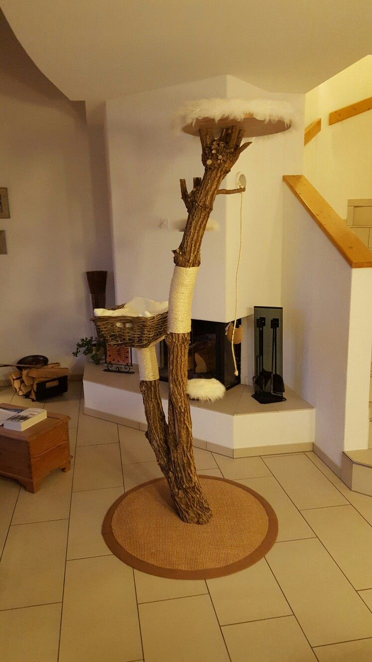 kratzbaum katzenbaum sisal unbehandelt natur unikat www.chatzebaum