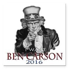 """I Want Ben Square Car Magnet 3"""" x 3"""" for"""