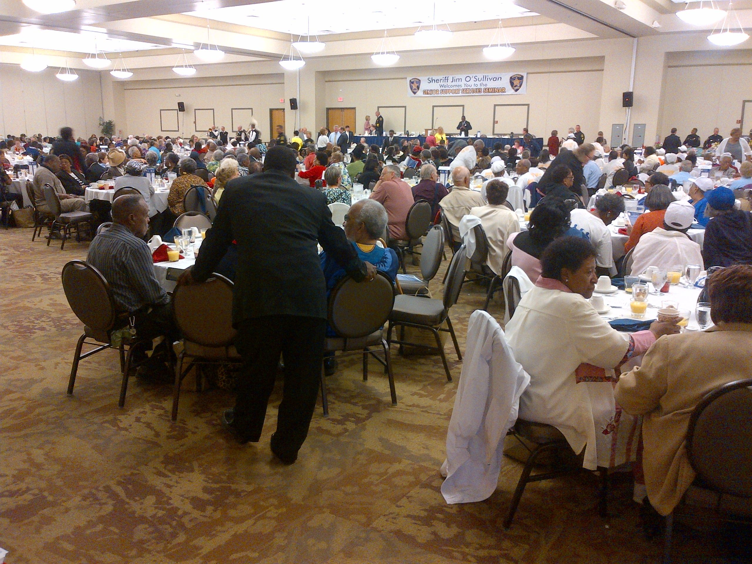 More than 1700 senior citizens attended the 25th annual