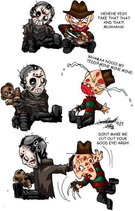Freddy vs Jason | Crazy Disney / cartoon stuff | Pinterest ...