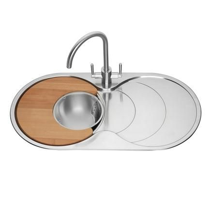 Lamona Round Bowl Sink with Drainer | Stainless Steel Kitchen ...