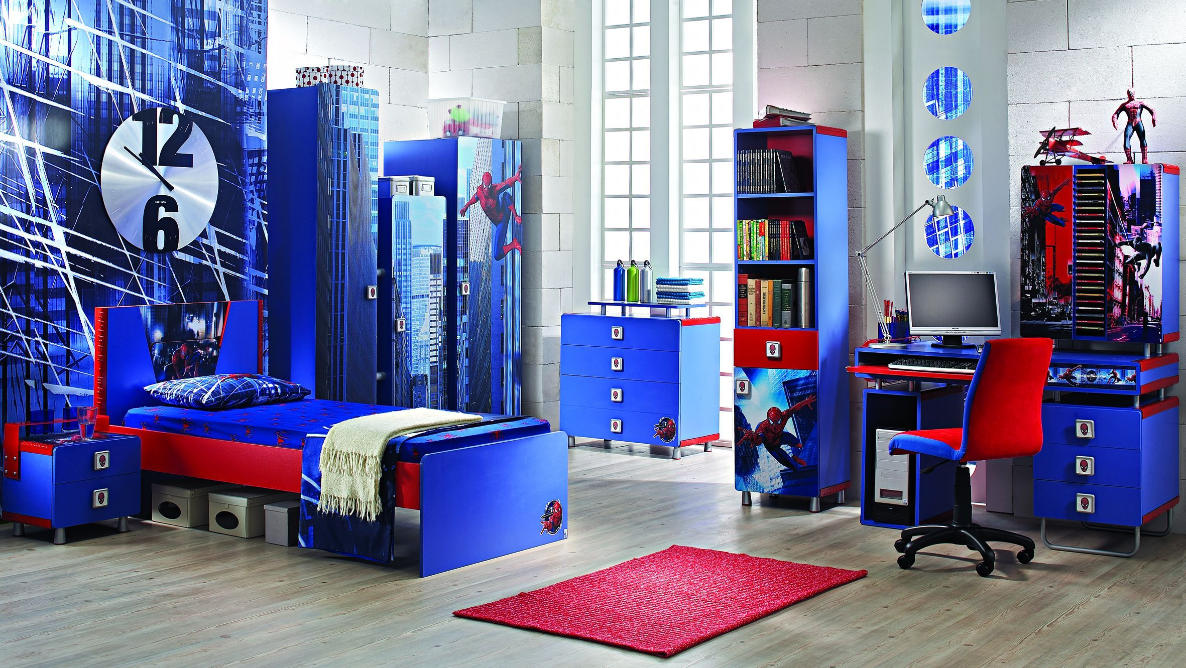 How To Decorate Bedroom With Spiderman Bedroom Decor