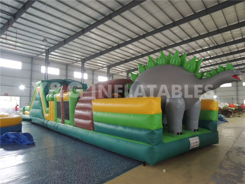 Dinosaur Inflatable Obstacle For Sale Welcome To Inquiry Inflatables Obstacle Dinosaur Bounce Jumping