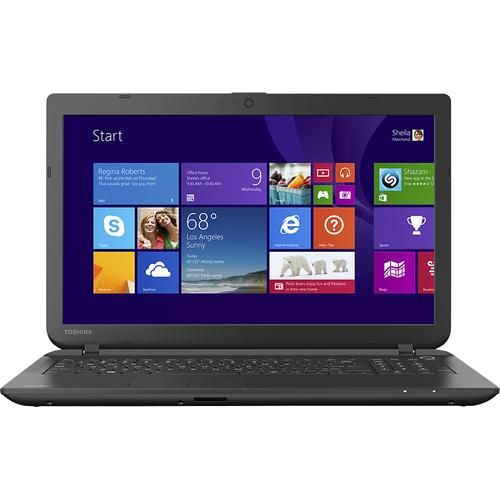 "Toshiba - Satellite 15.6"" Laptop - AMD A8-Series - 4GB Memory - 500GB Hard Drive - Jet Black $349 BB"