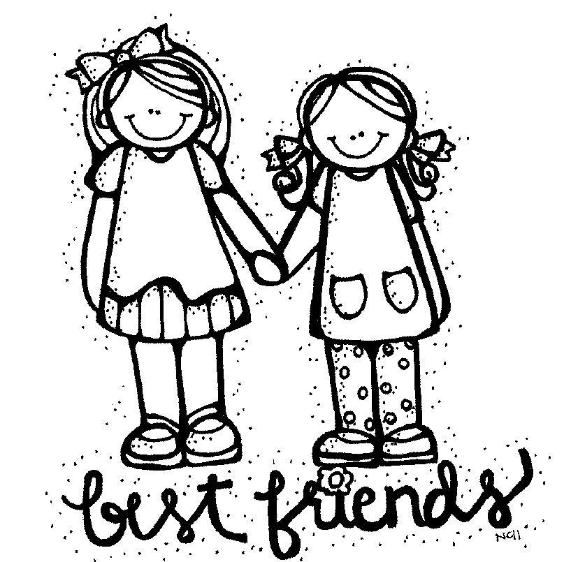 MelonHeadz: Best friends | Dibujos para colorear | Pinterest | Clip ...