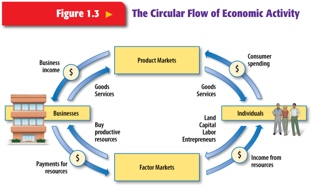 What Is Circular Flow Of Economic Activity Manual Guide