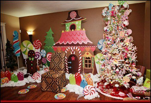 north pole christmas theme - Google Search Candy Land Christmas - christmas themes images