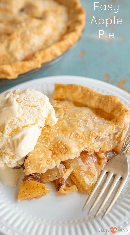Easy Apple Pie Recipe | Classic Apple Dessert Than