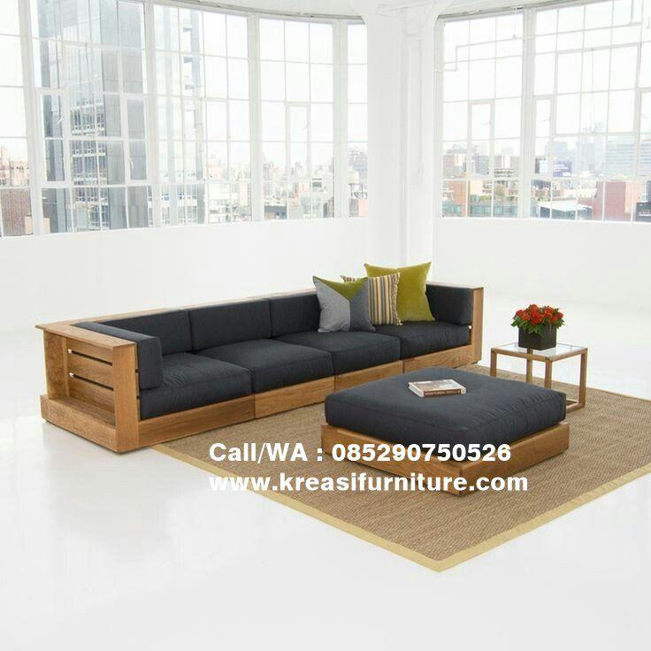 Sofa Ruang Keluarga 4 Seater Mebel Ruang Keluarga Dan