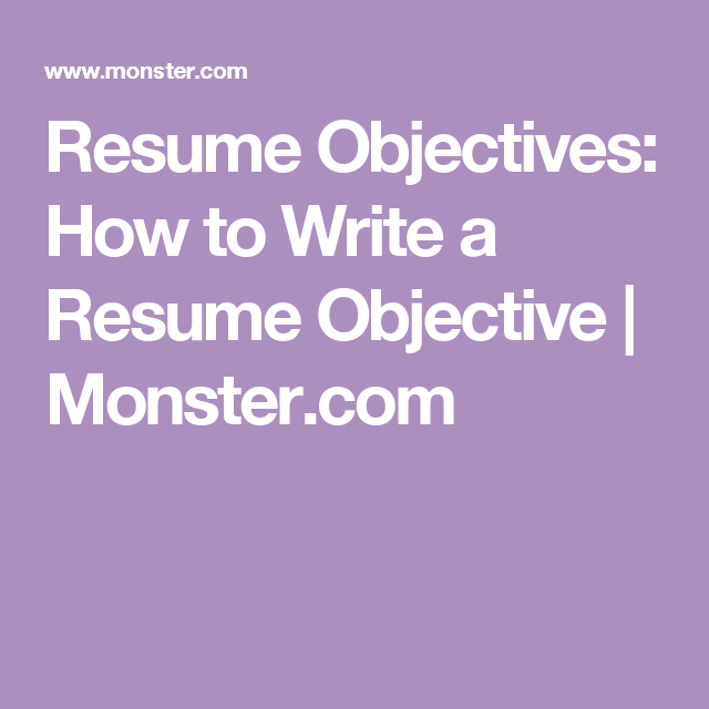 Learn How To Incorporate Your Professional Goals Into Your Resume