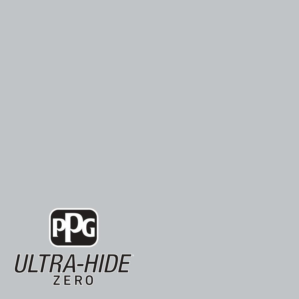 Ppg 5 Gal Hdpcn37u Ultra Hide Zero Silver Reflection Eggshell Interior Paint Interior Paint Grey Interior Paint Flat Interior