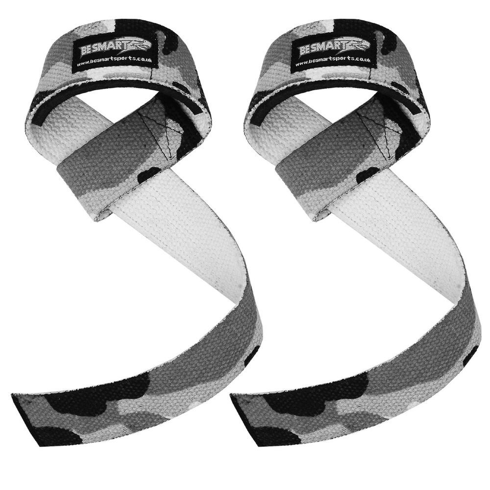 Quality Gym Weight Lifting Strap Heavy Duty Wrist: Details About Be Smart NEOPRENE-PADDED CAMO WEIGHT LIFTING