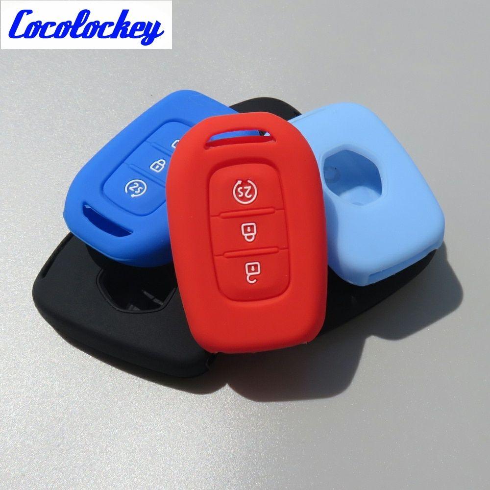 Cocolockey silicone car key cover case key bag holder for