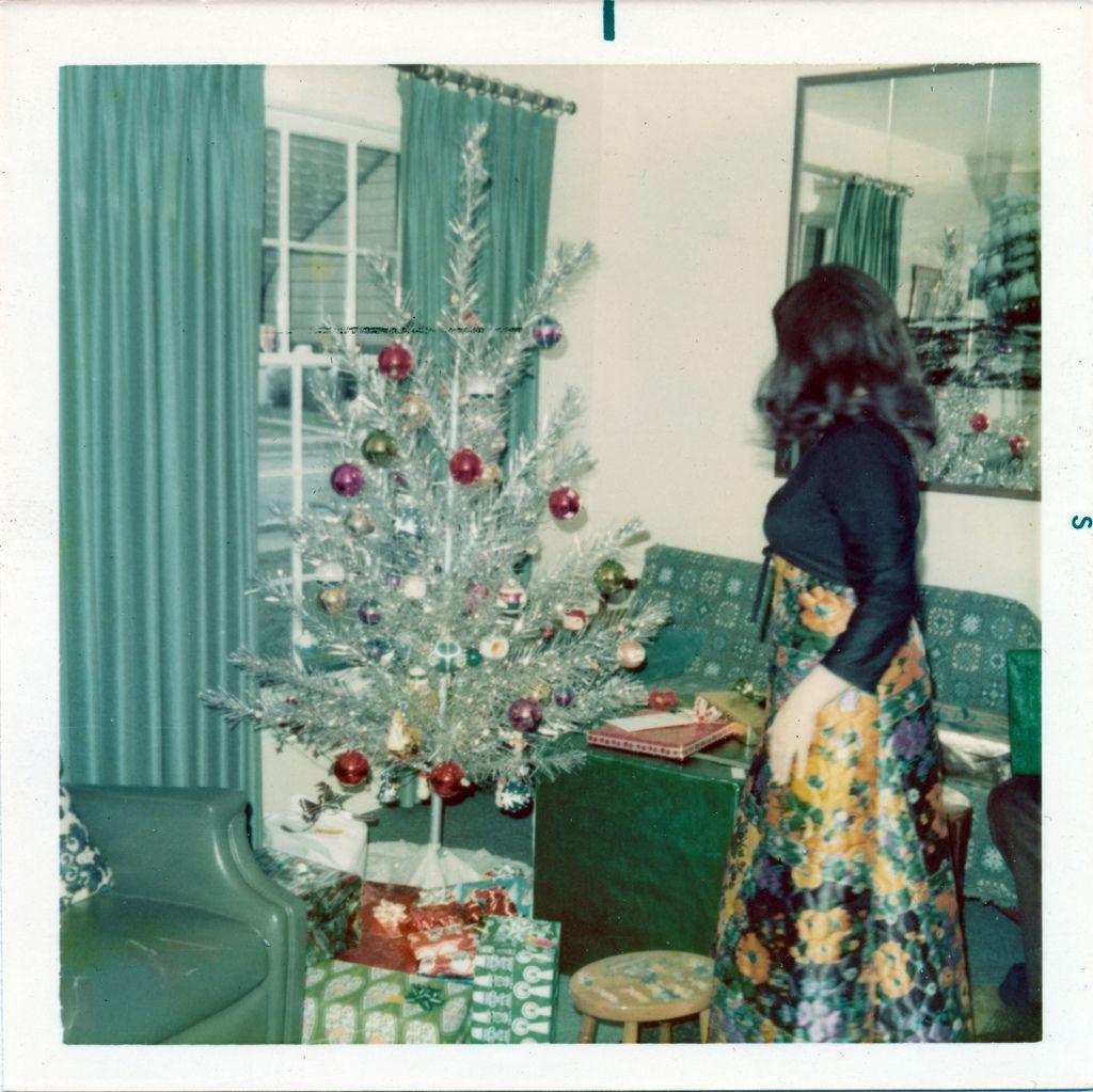 The aluminum Christmas tree, 1972. | xmas | Pinterest | Christmas ...
