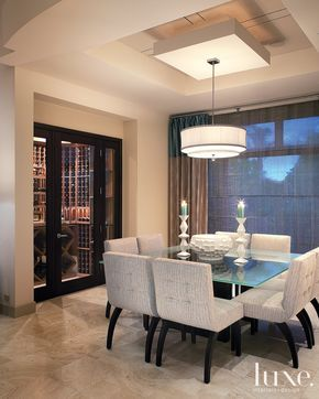 Modern Chic Dining Roomvalley Views Were Perfected When Interior Simple Modern Chic Dining Room Design Decoration