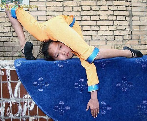 Flexible Chinese Girl