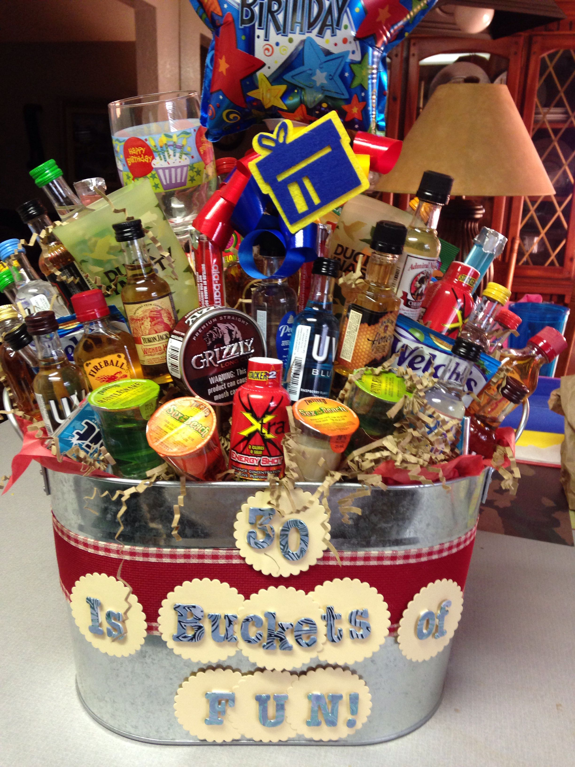 Turning Dirty 30 Gift Basket Cute Stuff Pinterest