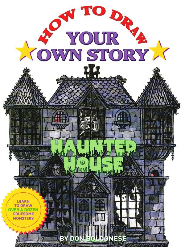 design your own haunted house. How many scary things can you learn to draw in your own Haunted House  story Follow the step by instructions and before know it ll hav