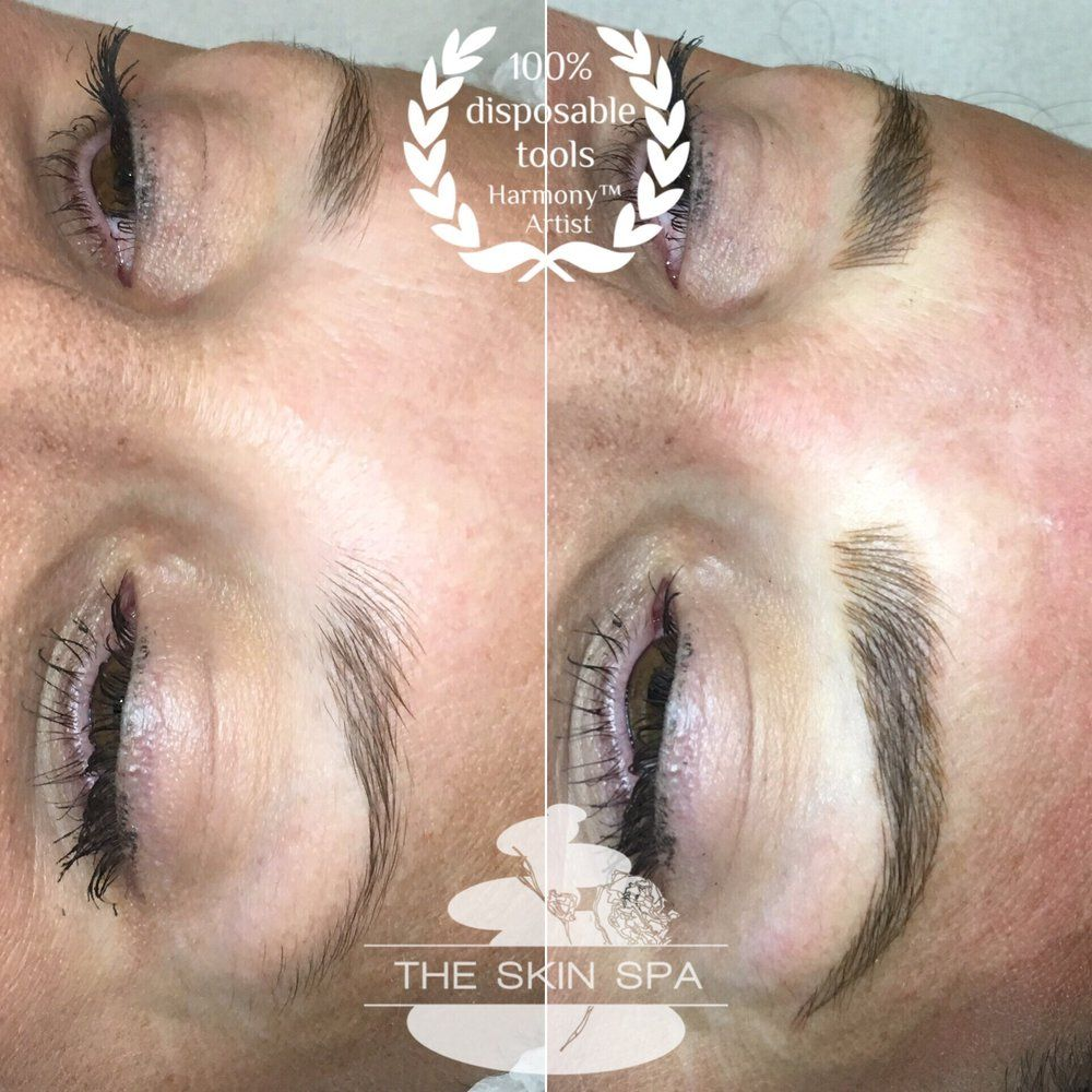 The Skin Spa Chicago Il United States 3d Brows Microblading