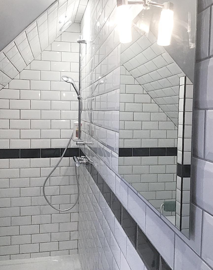 Epingle Par Fabienne Chevalier Sur Deco Carrelage Metro Carrelage