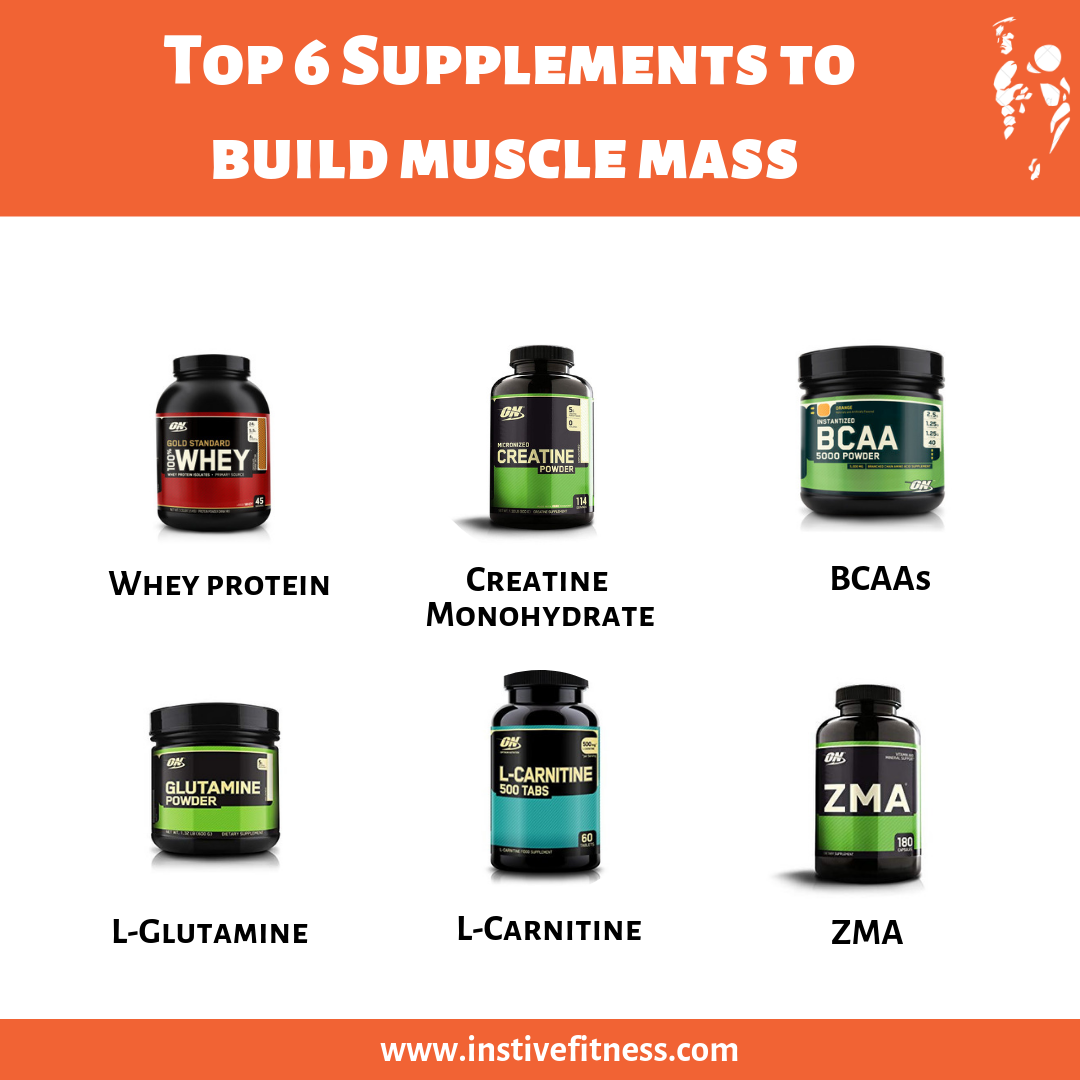 It is very important to choose the best supplements for building muscle when you are getting