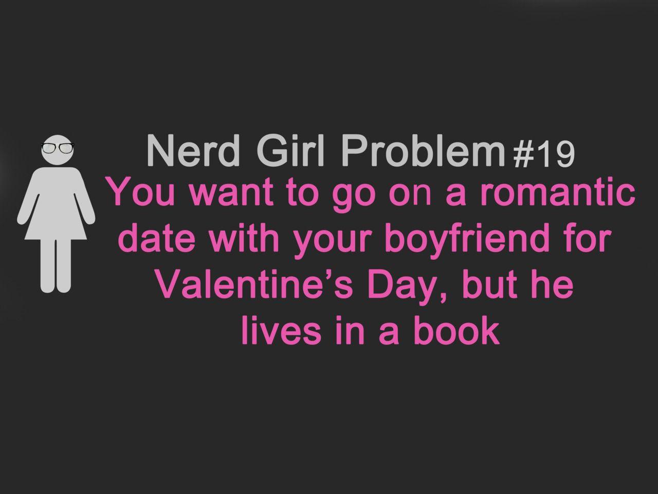 Nerd+Girl+Problems | Mundinho Insano: Nerd Girl Problems