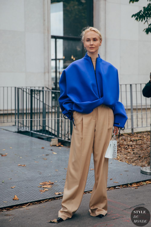 Paris SS 2020 Street Style: Olga Karput #trendystreetstyle