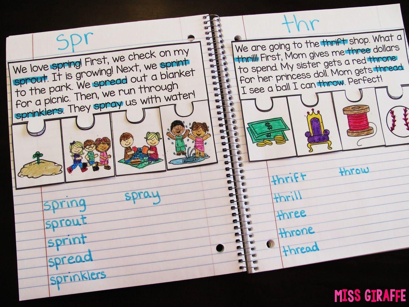 Phonics Fluency Notebooks