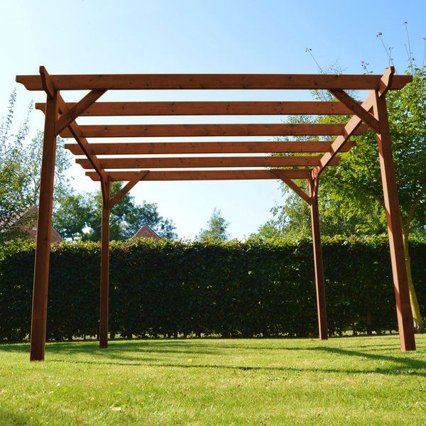 The Rutland pergola gives a classic, refined look to any garden. As ...