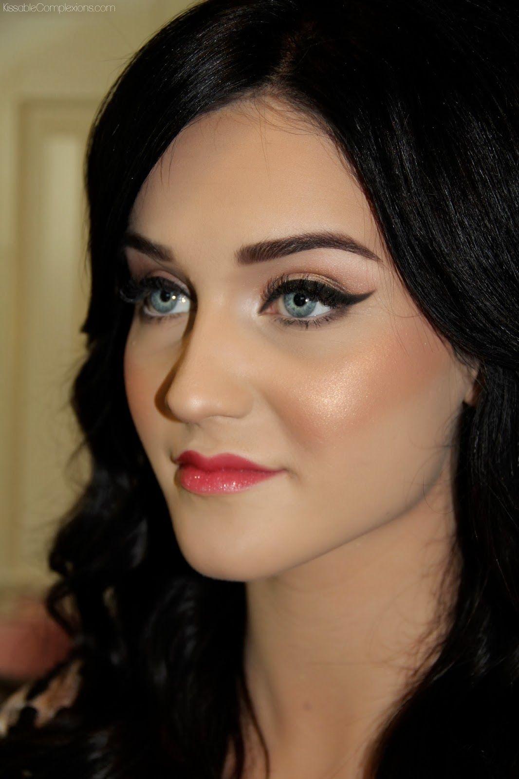 Snow White fair skin makeup Fair skin makeup, Hair