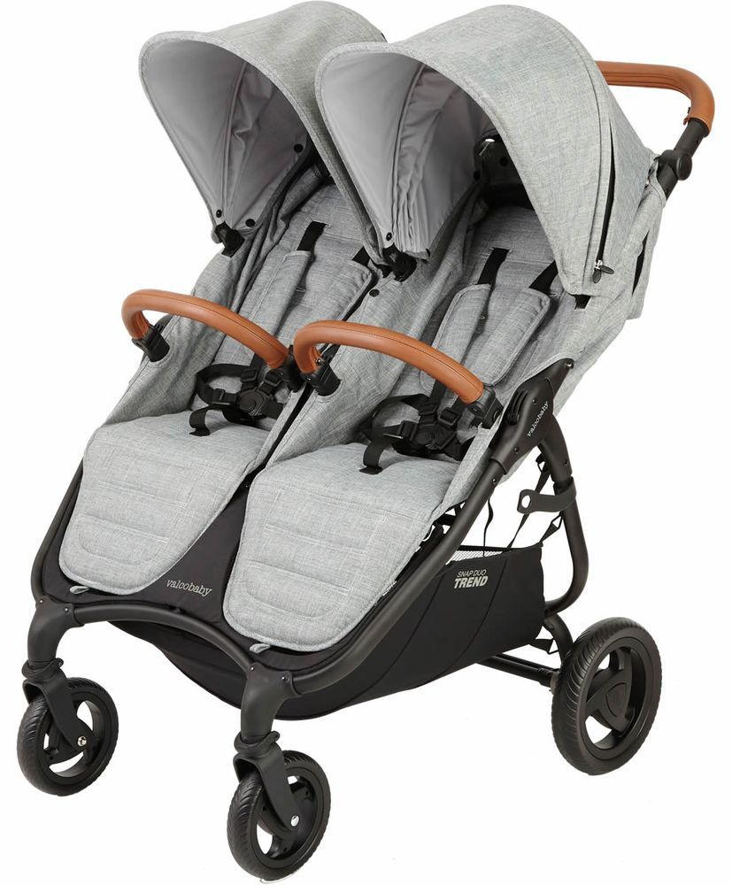 Valco Snap Duo Trend Stroller Grey Marle Double